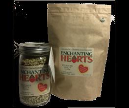 Enchanting Hearts - 1 Pound Organic Hemp Hearts grown in Colorado