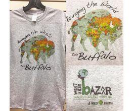 """Bringing the World to Buffalo"" Tee Shirt"