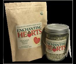 Enchanting Hearts - Half Pound Organic Hemp Hearts grown in Colorado