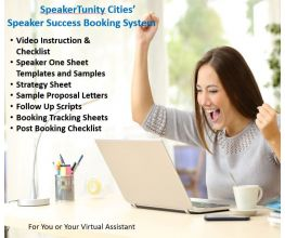 SpeakerTunity Cities™ Speaker Success Booking System