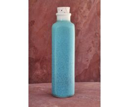FOUR CORNERS CERAMIC EARTH-IN CANTEEN IN SEA GLASS TURQUOISE